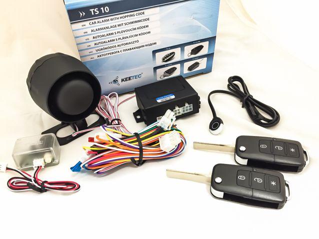 TS-10 KEY Bicskás kulcsos autóriasztó