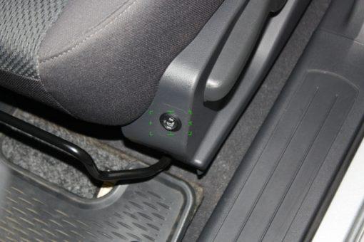 Ülésfűtés AWHL-400 szett 1 ülésre 2 fokozatú kapcsolóval