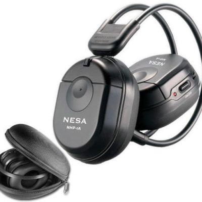 összecsukható infra fejhallgató