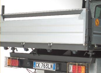 SPAL Konzolos Teherautós tolatóradar 24V és 12V