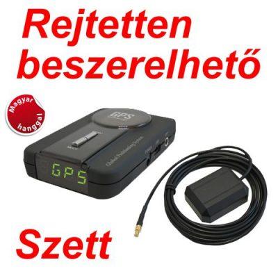 Kiyo GPS-800 GPS Detektor Rejtetten Beszerelhető Szett