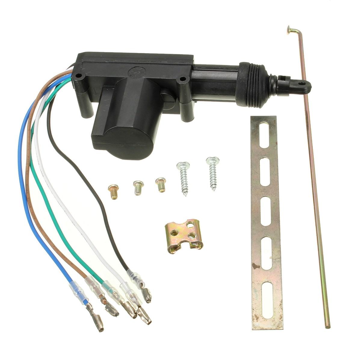 5 vezetékes központizár motor