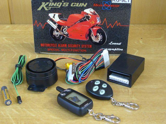 KG-9 LCD Pageres Motorriasztó