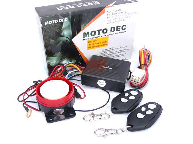 TH Moto-01 MotorriasztóTH Moto-01 Motorriasztó