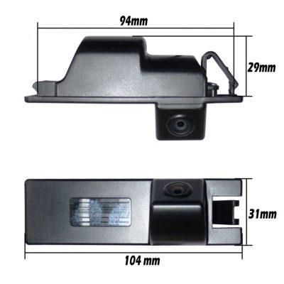 BMW-02 BMW Rendszámvilágítás helyére szerelhető Tolatókamera