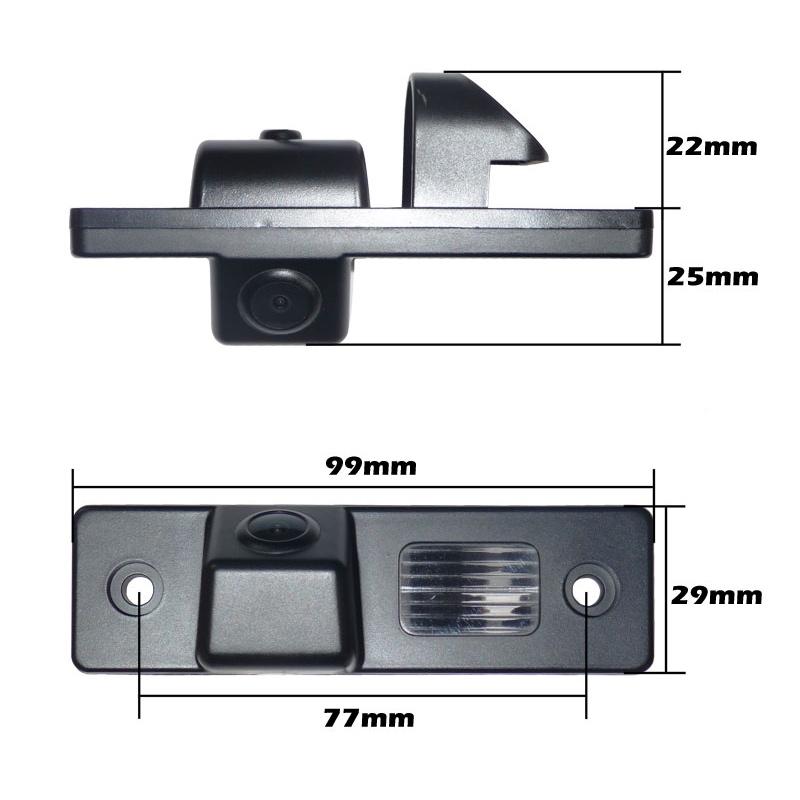 Chevrolet-01 Chevrolet Rendszámvilágítás helyére szerelhető Tolatókamera