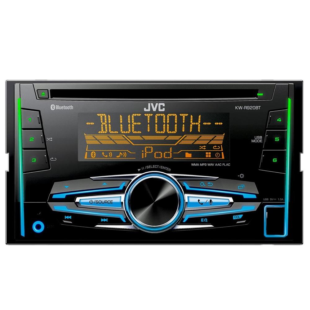 JVC KW-R920 BT BLUETOOTHOS USB-s CD/MP3 Lejátszós 2 DIN Autórádió Kihangosítóval