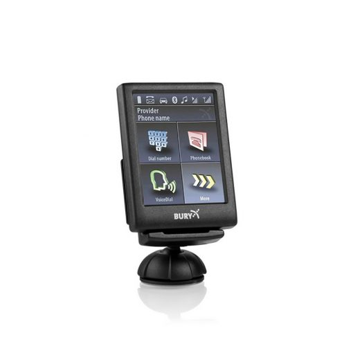 BURY CC-9056 PLUS Bluetoothos telefon kihangosító színes LCD kijelzővel