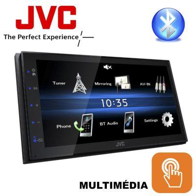 JVC KW-M25BT Multimédiás Fejegység CD/DVD Mechanika nélküli 2 DIN-es