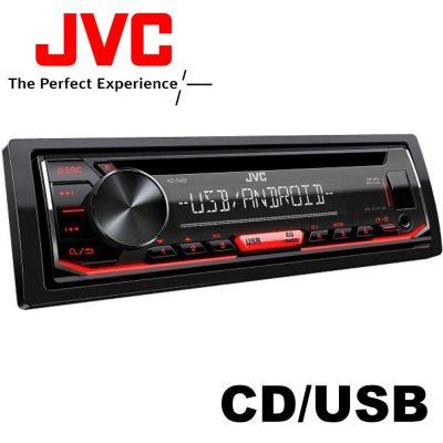 JVC KD-T402 USB CD/MP3 AUX Bemenetes autórádió