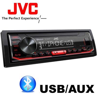 JVC KD-X362 BT BLUETOOTHOS USB-s CD nélküli Autórádió Kihangosítóval