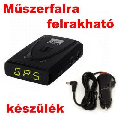 Kiyo GPS-U1 GPS detektor alapkészülék