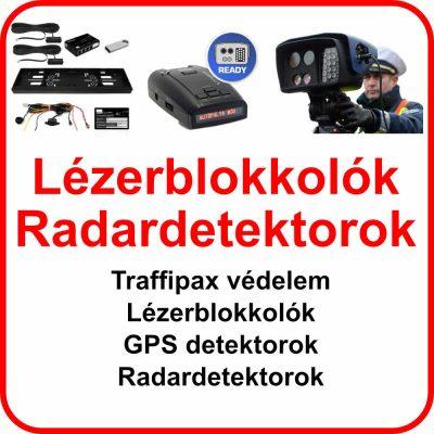 Lézerblokkolók, Radardetektorok, Traffipaxvédelem