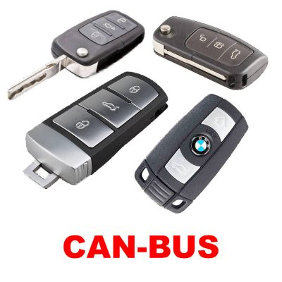 Autó távirányítójával vezérelhető CAN-BUS-os autóriasztók