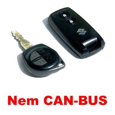 Autó távirányítójával vezérelhető NEM CAN-BUS-os autóriasztók