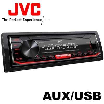 JVC KD-X162 USB-s CD Mechanika nélküli Autórádió